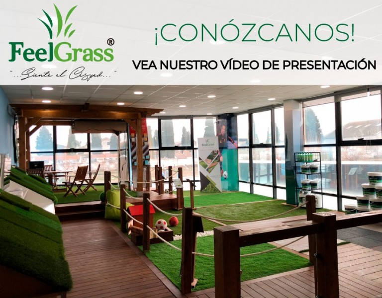 Así es FeelGrass. Su marca Líder en Césped Artificial